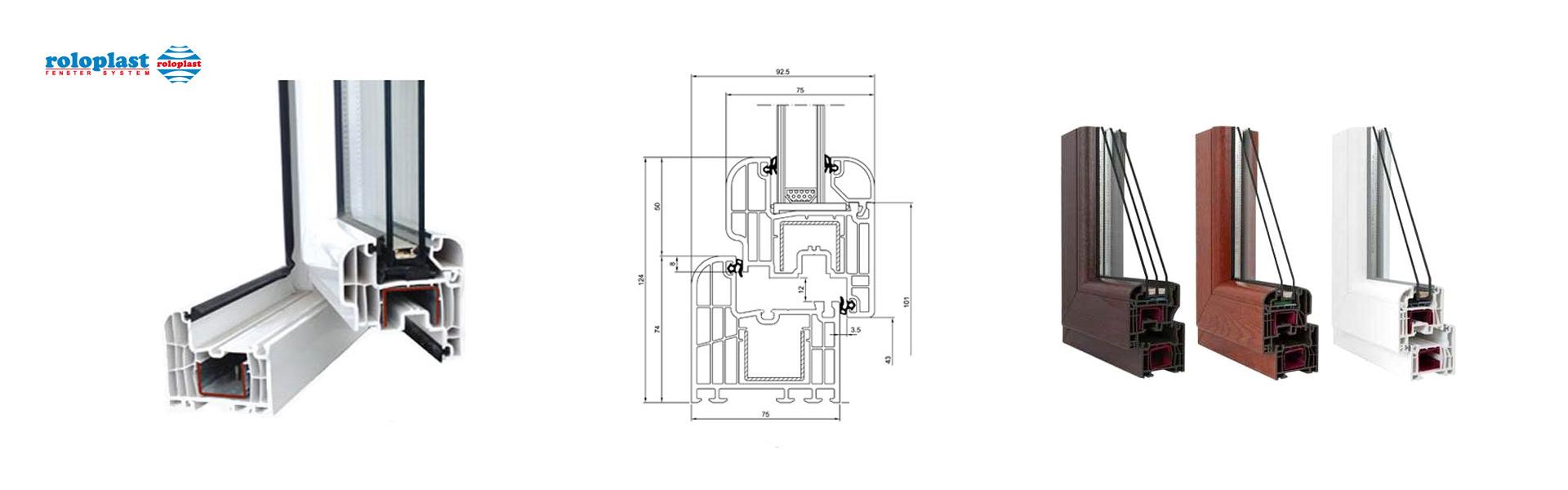 Roloplast PVC Profili